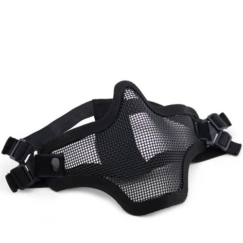 V1 Double Band Metal Mesh Mask (Black)