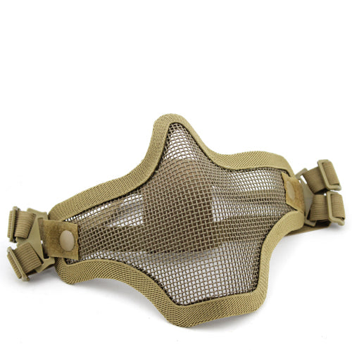 V1 Double Band Metal Mesh Mask (TAN)