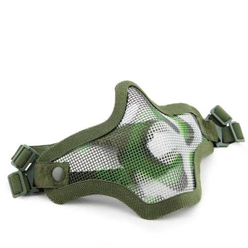 V1 Double Band Metal Mesh Mask (Woodland)