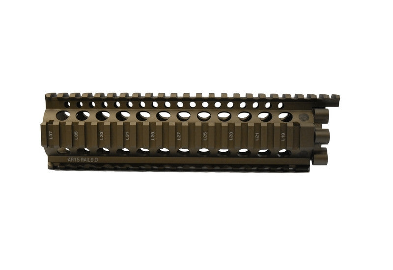 "Madbull Daniel Defense DD Lite Rail 9"" Dark Earth - Phoenix Tactical"