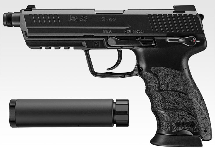 Marui HK45 Tactical Gas Blowback Pistol (BK)