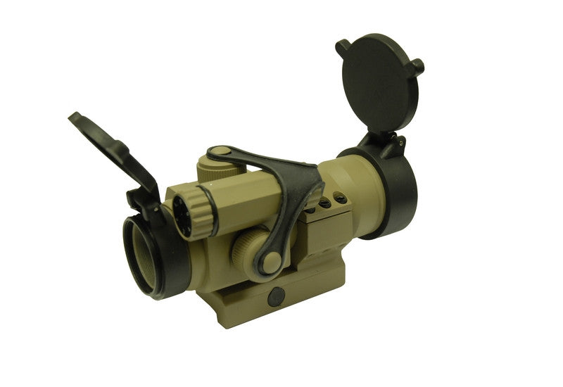 G&P Military Type 30mm Red Dot Sight (Sand)