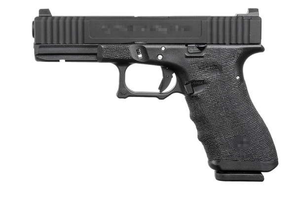 Taiwan ZEV17 Gas Blowback Pistol ( Black )