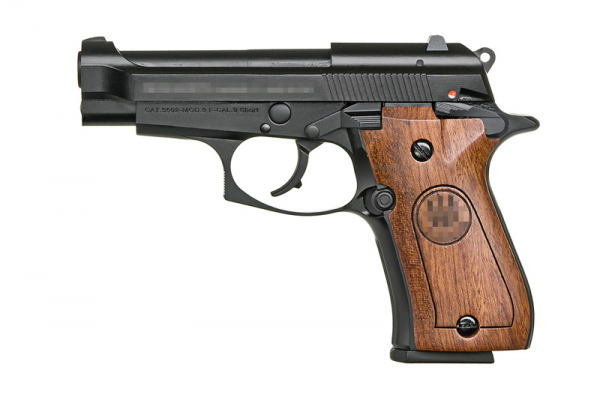 Taiwan Custom M84 Gas Pistol ( Black )