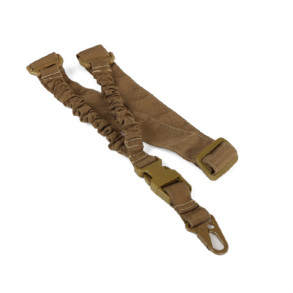 One Point Combat Rifle Sling / Tan