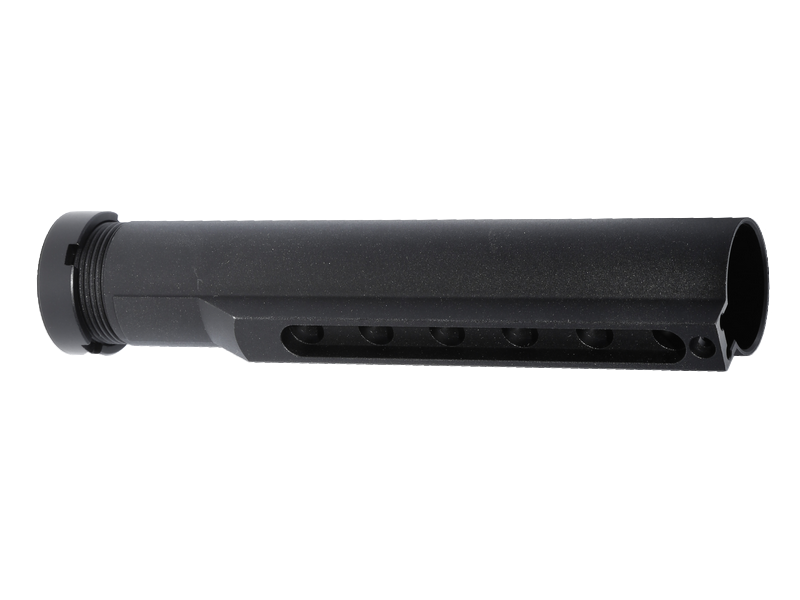 Stock Tube for M4/M16 Series AEG (BK)