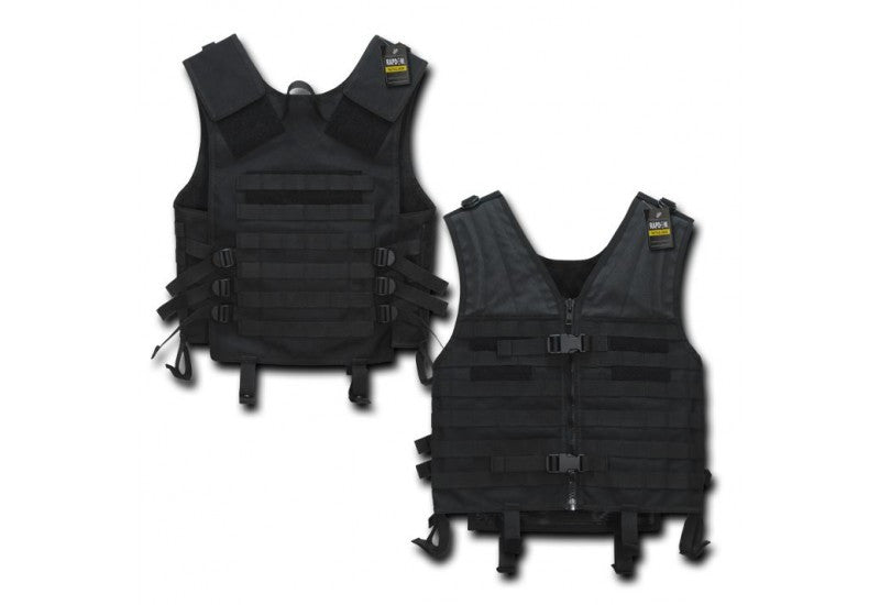 Rapid Tactical Modular Style Vest (Black) - Phoenix Tactical