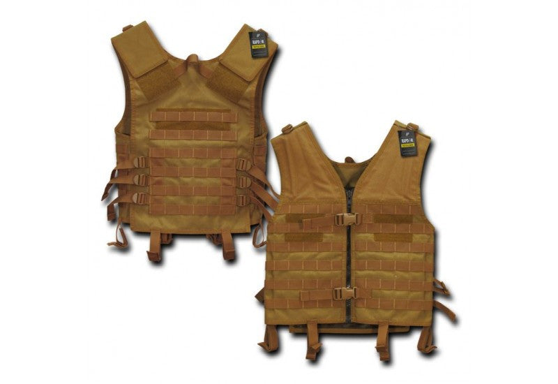 Rapid Tactical Modular Style Vest (Coyote Brown)