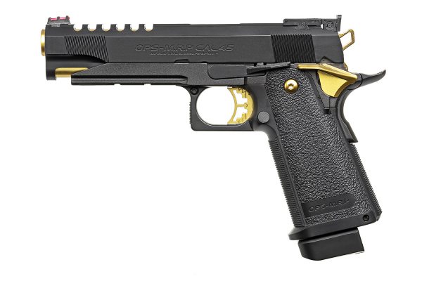 Toyko Marui Hi-Capa 5.1 Gold Match Gas Blowback Pistol - Phoenix Tactical