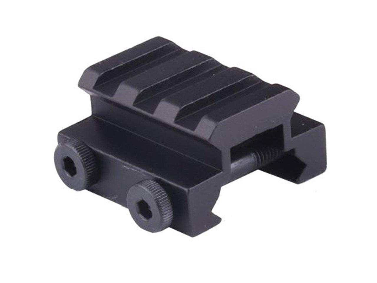 "Tactical 3 Slot Low Riser Scope Mount Rail (1/2"" Height )"