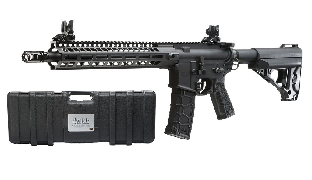 VFC AVALON SABER CARBINE DX / M-Lok /Black /AEG (Maple Leaf inside)