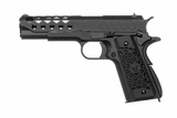 WE 1911 HEX Cut Gas Blowback Pistol ( Black ) - Phoenix Tactical