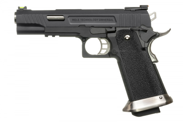 WE Hi-Capa 5.1 T.Rex Gas Blowback Pistol ( Black )