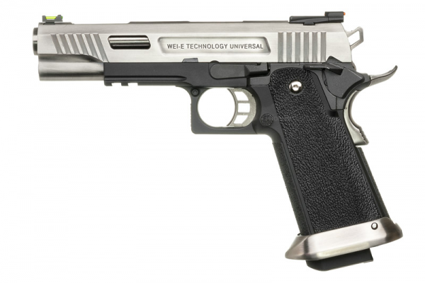 WE Hi-Capa 5.1 T.Rex Gas Blowback Pistol ( Silver )