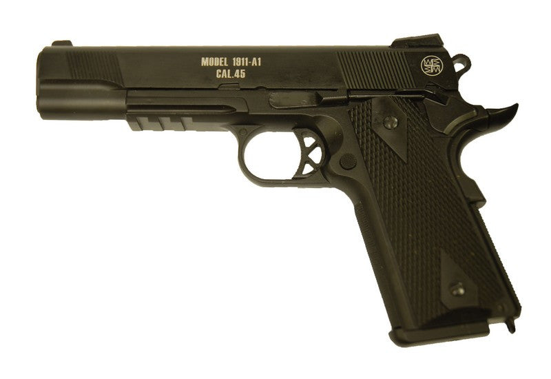 WE Full Metal M1911A1 Tactical Gas Pistol ( 2 Magazine Pack )