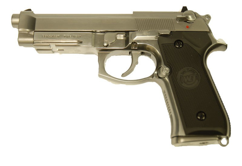 WE M9A1 Gas Pistol / Silver
