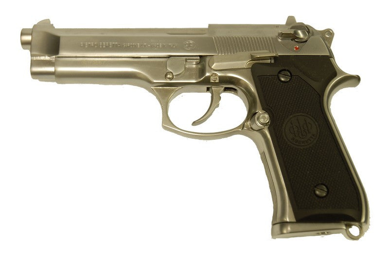 Taiwan Made M92 Gas Pistol W/M ( Silver )