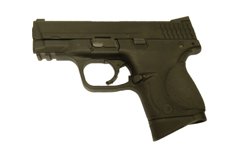 WE M&P Compact Gas Pistol with 2 Magazine ( Black )
