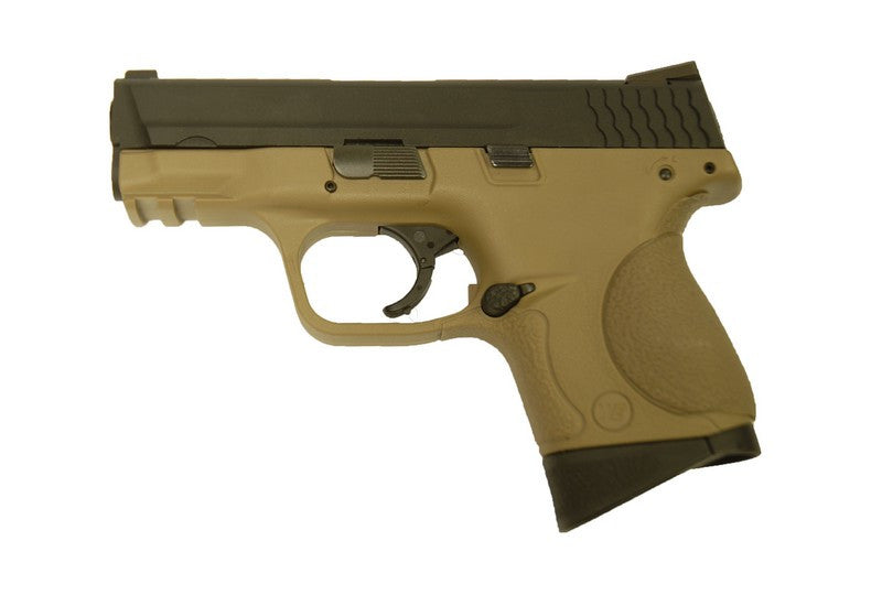 WE M&P Compact Gas Pistol ( Tan )