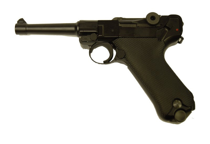 WE Full Metal P08 Gas Pistol ( 4 Inch )