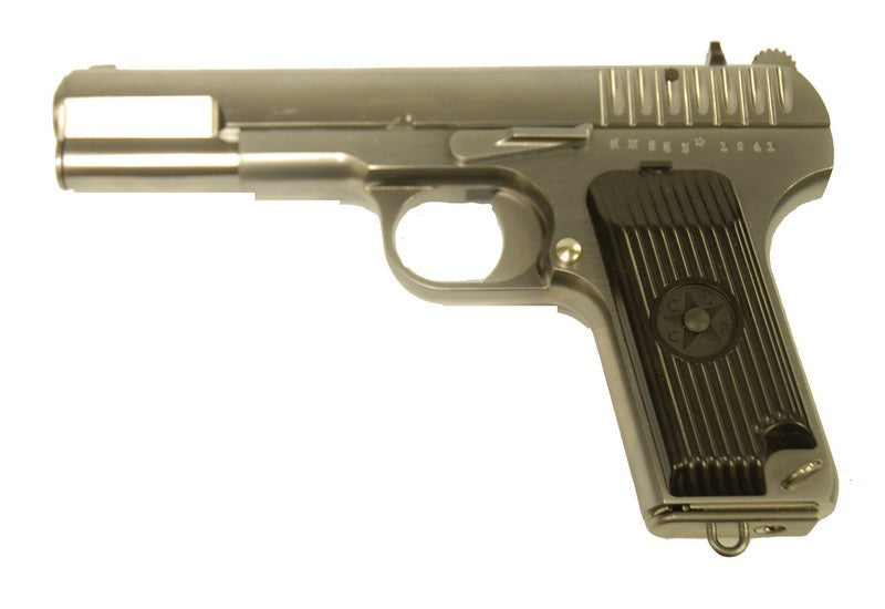 WE TT-33 Gas Pistol ( Silver ) - Phoenix Tactical