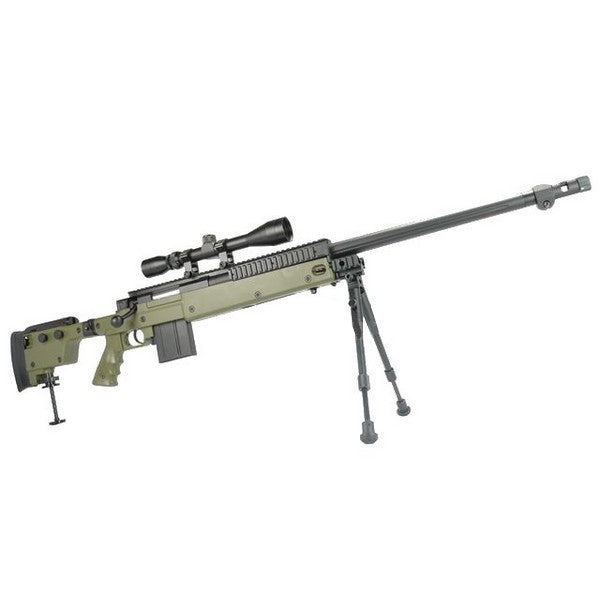 WELL MB4407D Airsoft Cocking Rifle (OD)