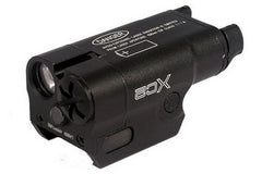 SF Style XC2 Pistol Flashlight/ Red Laser