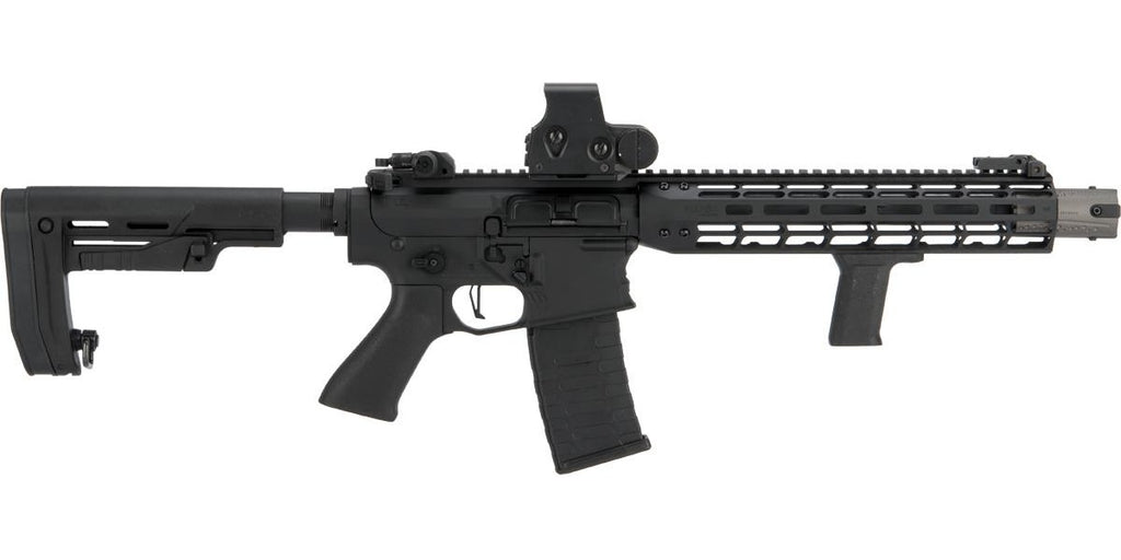 EMG Falkor AR-15 Blitz SBR M4 Airsoft AEG Rifle (Color: Black Out)