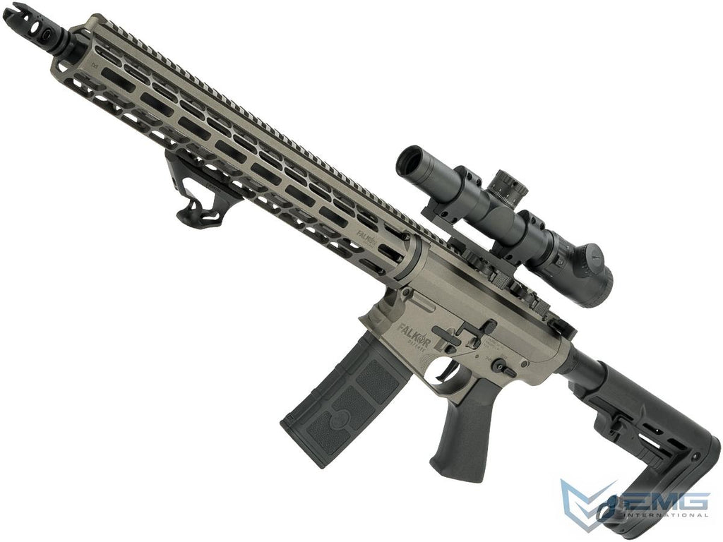 EMG Falkor AR-15 RECCE M4 Airsoft AEG Rifle (Color: Falkor Grey)
