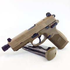 Cybergun FNX-45 Tactical GBB Pistol (TAN)