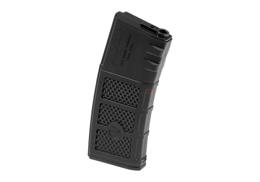 G&P High RPS 130rd Polymer Mid-CAP Magazine for M4 M16 Airsoft AEG Rifles - Black