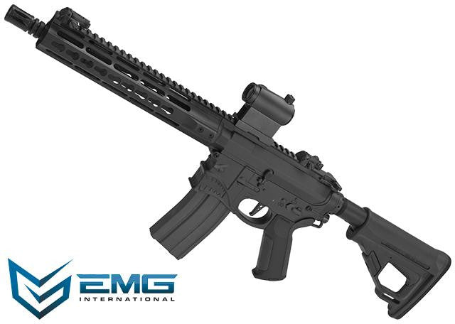"EMG ""Hellbreaker"" Licensed Full Metal Advanced M4 SBR 10"" Airsoft AEG Rifle (Black) - Phoenix Tactical"