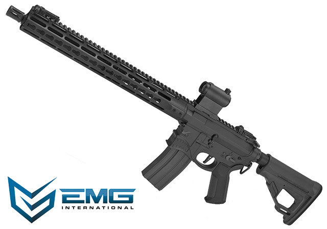 "EMG ""Hellbreaker"" Licensed Full Metal Advanced M4 15"" Carbine Airsoft AEG Rifle (Black)"