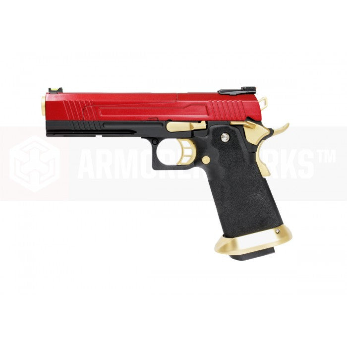 Armorer Works HX1004 HI-Speed 5.1 GBB Pistol (Red) - Phoenix Tactical