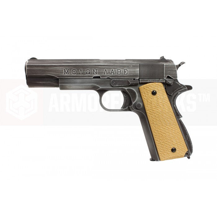 Armorer Works classic 1911 GBB Pistol (Yellow grip Cover) - Phoenix Tactical