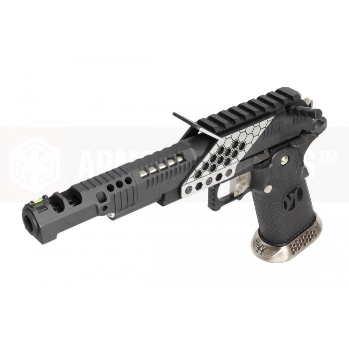 Armorer Works .38 Supercomp Race GBB Pistol with mount (Black)