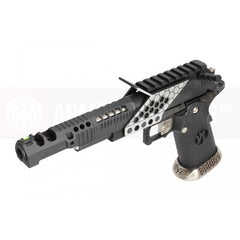Armorer Works .38 Supercomp Race GBB Pistol with mount (Black) - Phoenix Tactical