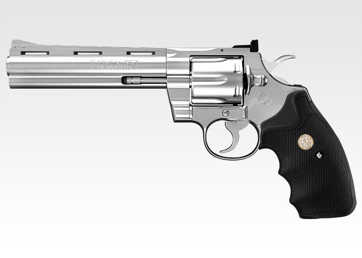 Marui Python 6 inch Stainless Model Gas Revolver