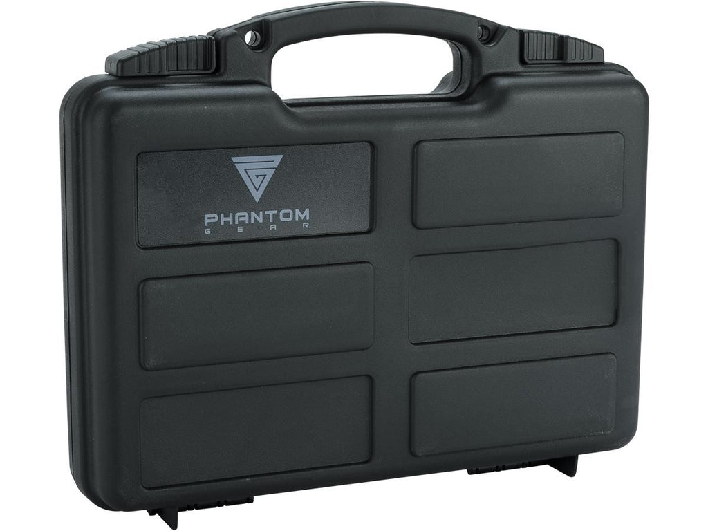 Phantom Gear / Tsunami Pistol Case w/ Customizable Grid Foam