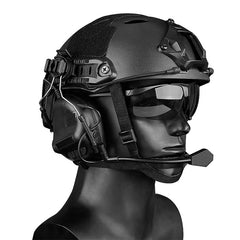 Tactical Headset gen5 / Helmet Wearing / BK