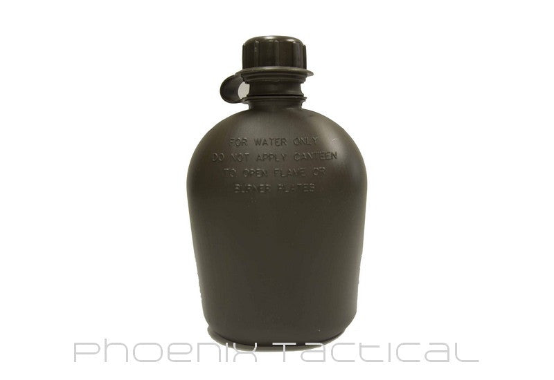 High Density Ex Army Water Bottle (Olive Drab) - Phoenix Tactical
