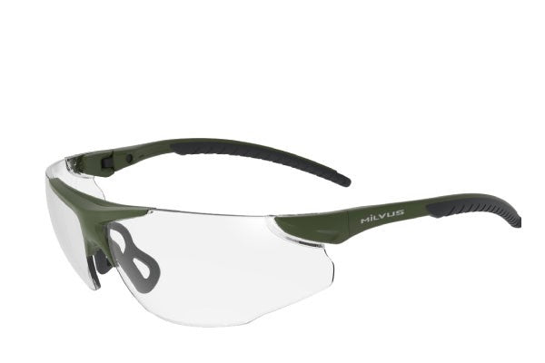 MILVUS Stalker Tactical Glasses / Clear