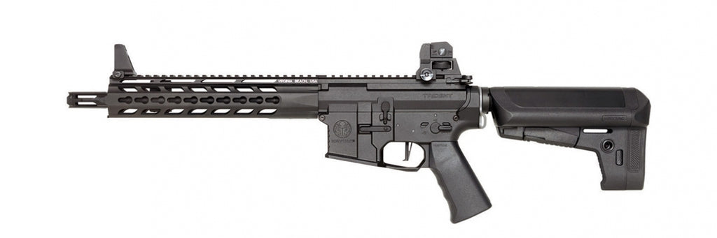 Krytac Full Metal Trident MK2 CRB Airsoft AEG Rifle (Color: Black)