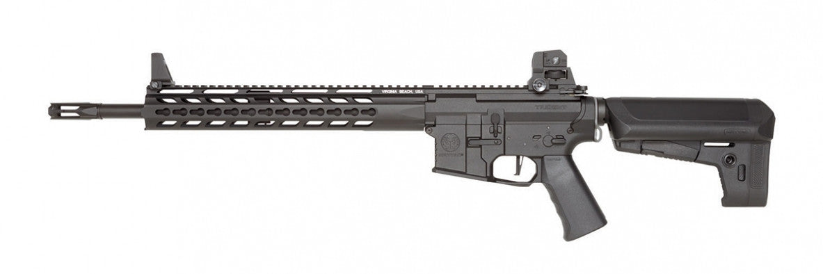 Krytac Full Metal Trident MK2 SPR Airsoft AEG Rifle (Color: Black) - Phoenix Tactical