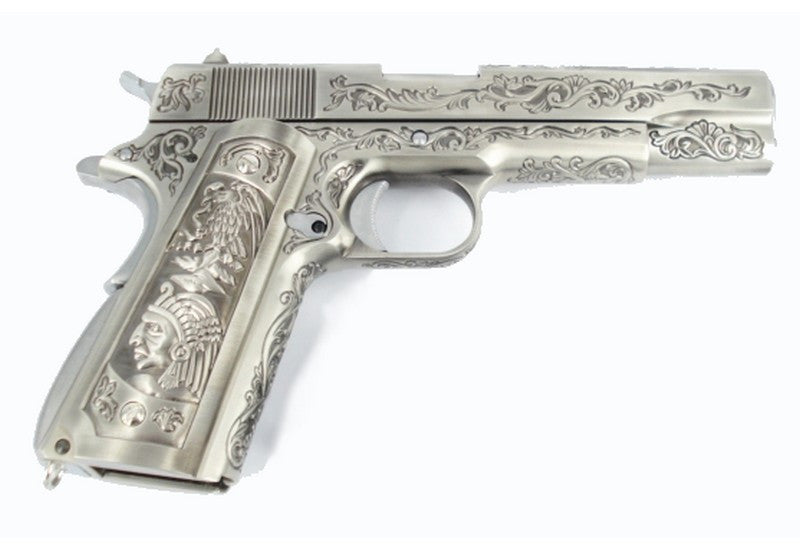 WE 1911 Classic Floral Pattern Gas Blowback Pistol