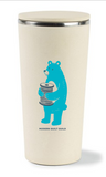 Limited Edition Sarah Watts + MQG Ceramic Coffee Tumbler