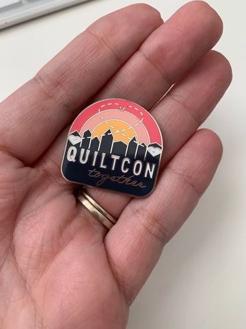 QuiltCon Together Commemorative Pin