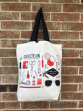 Ruby Star Society & QuiltCon 2019 Tote by Melody Miller