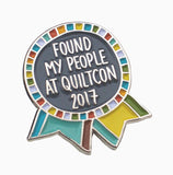 QuiltCon 2017 Enamel Pin