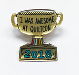 QuiltCon 2018 Pin